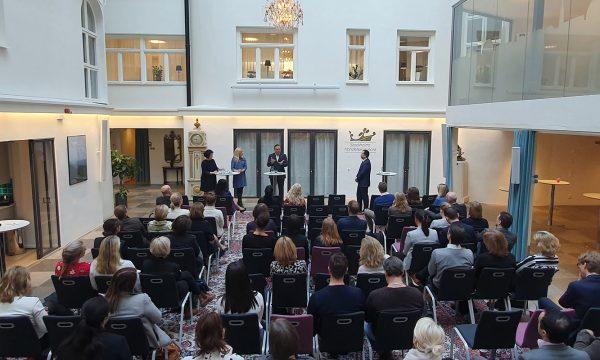 Fredrik Hillelson Elsa Akman handelskammaren