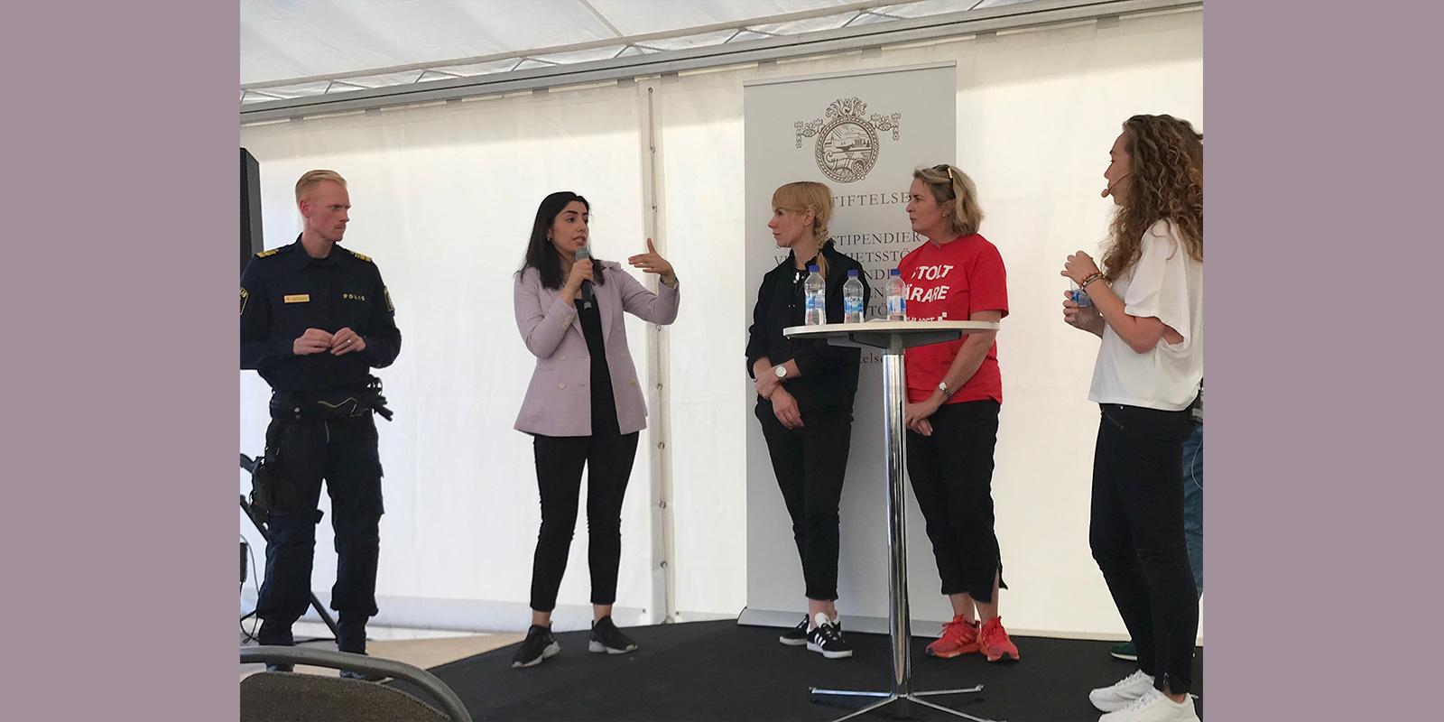 Delal Apak medverkade på Järvaveckan