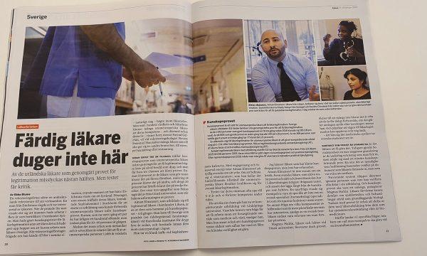 Farzad Golchin intervjuad i Fokus