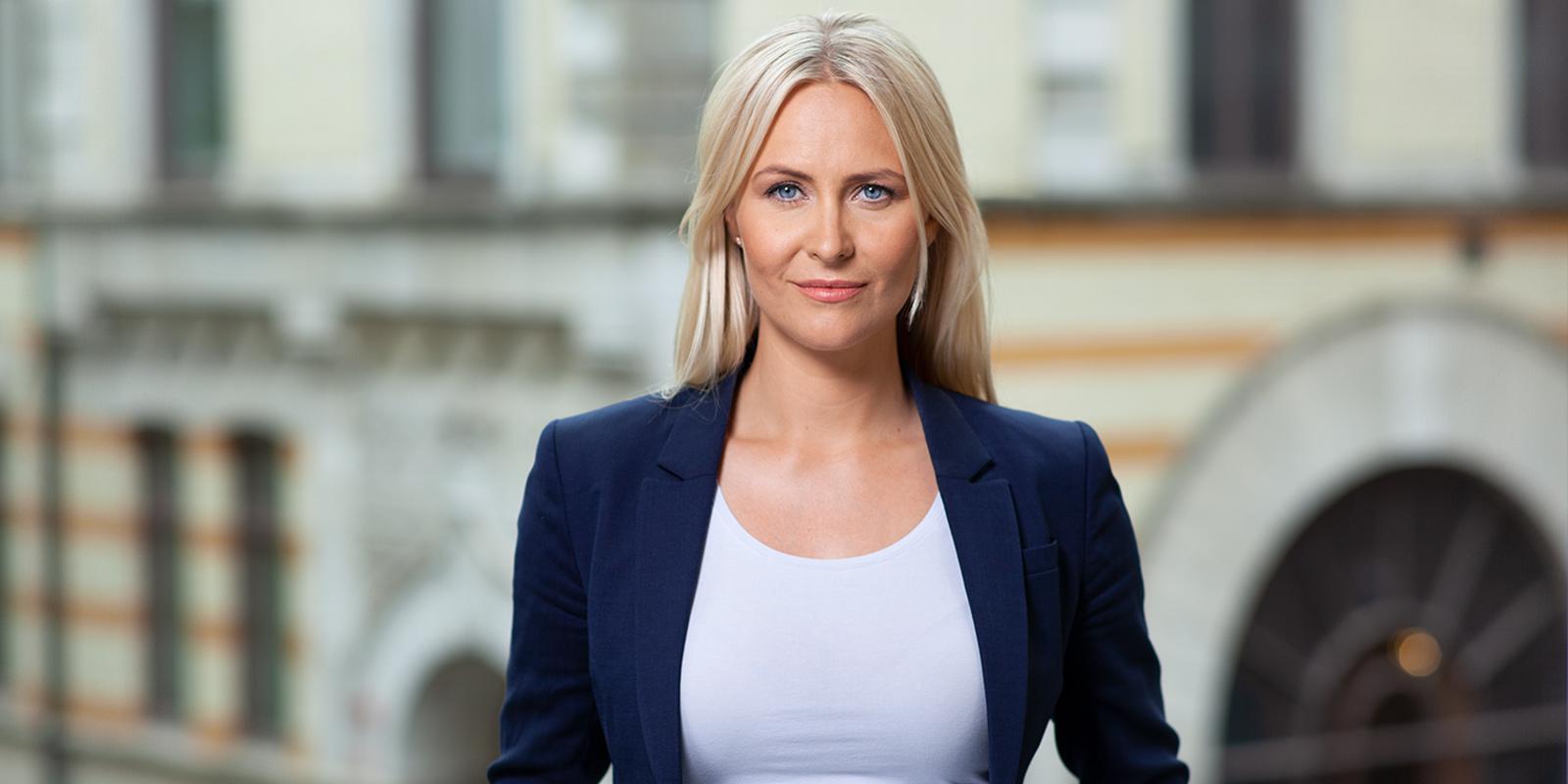 Erika Andersson i podd-samtal
