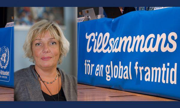 Anna Hägg-Sjöquist till Svenska FN-förbundet
