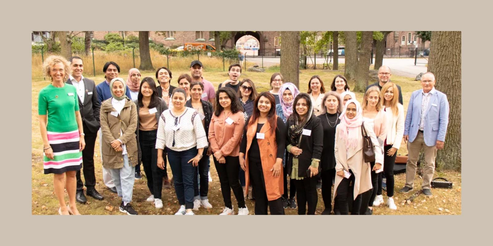 Studenterna på Sophiahemmet högskola