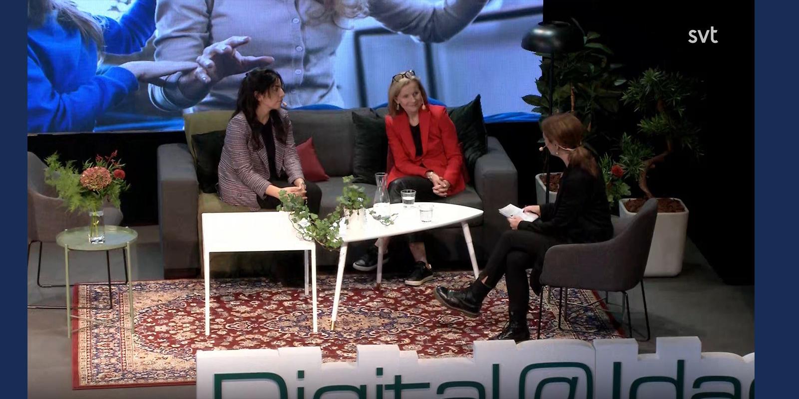 Delal Apak om digitalisering i SVT