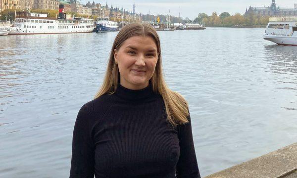 Anna Stenberg vid Nybroviken