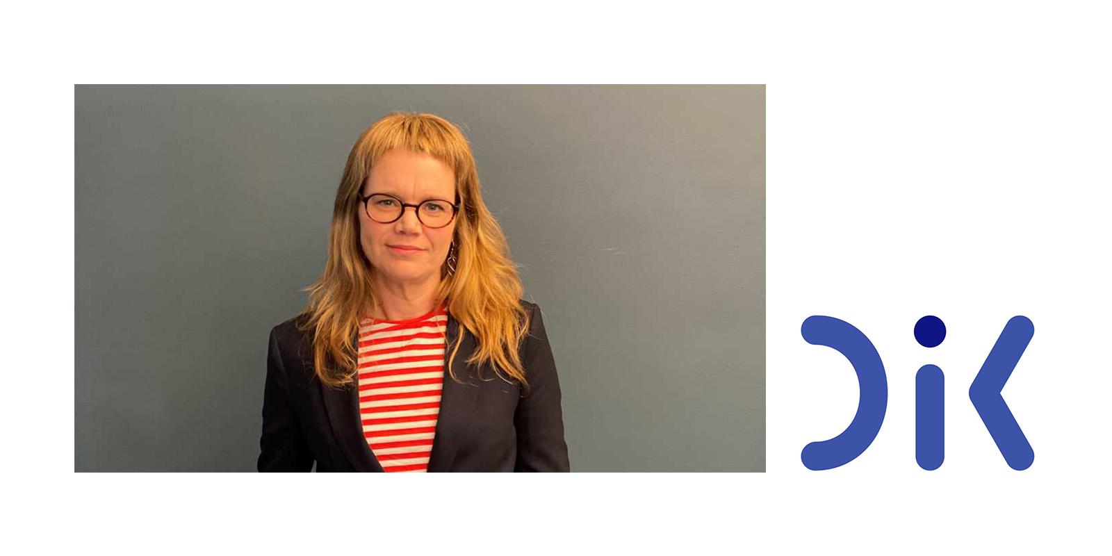Johanna Lindell är ny vd för DIK