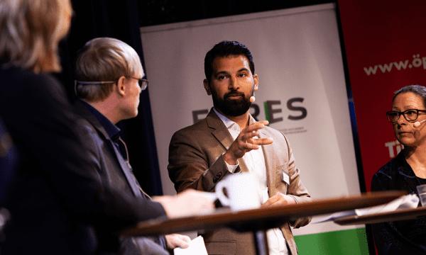 Farzad Golchin på Framtidens integration