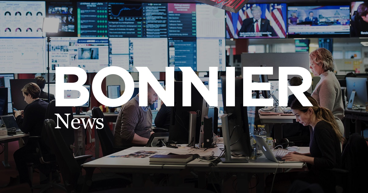 Bonnier News logo