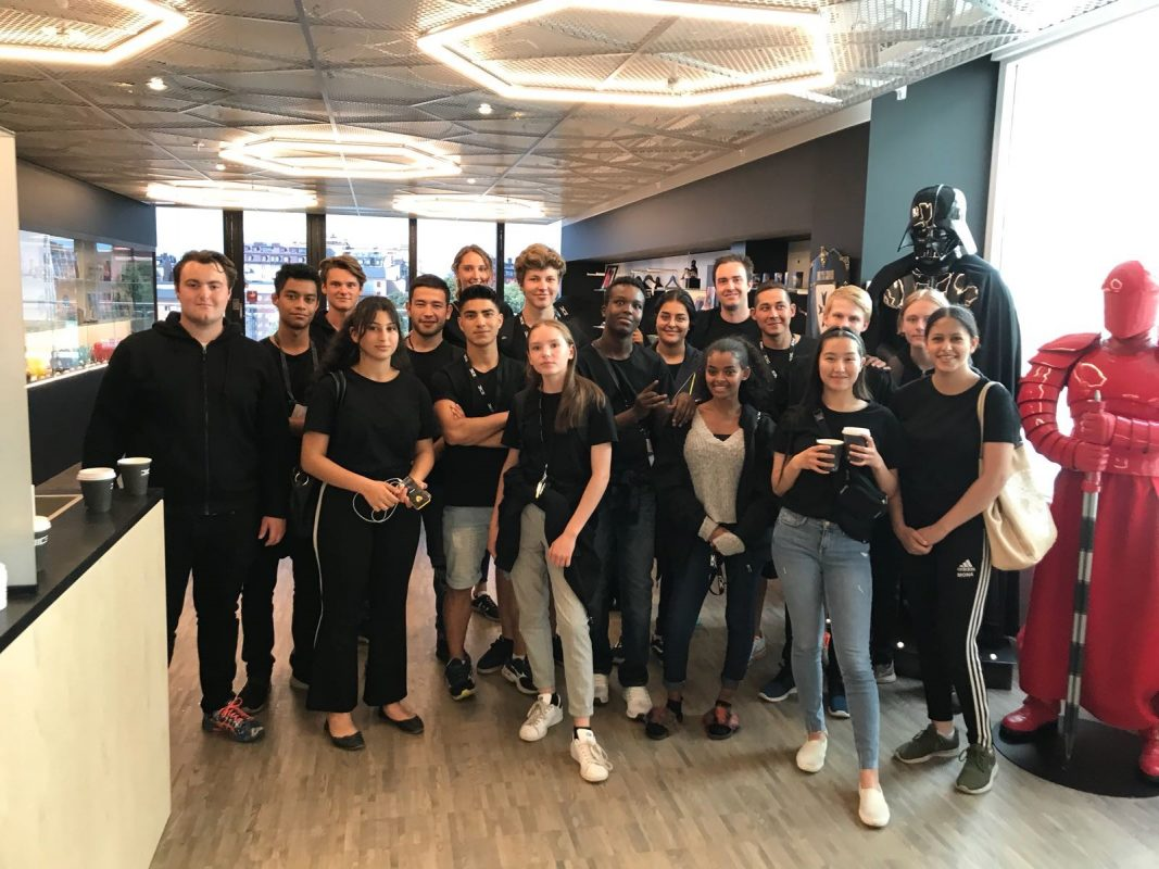 Novare Youth Academy besök på Dice
