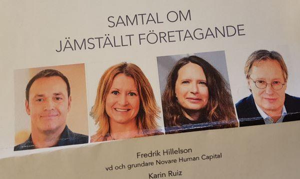 Fredrik Hillelson om jämställt företagande