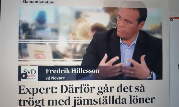 Fredrik Hillelson intervju i Svenska Dagbladet