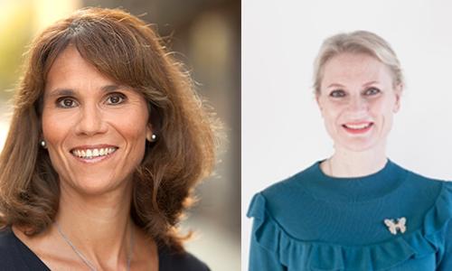 Anna Carlqvist och Marie Nygren