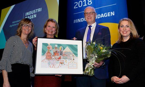 Jämställdhetspris till Domsjö Fabriker