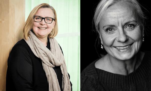 Anna-Karin Celsing och Susanne Lithander