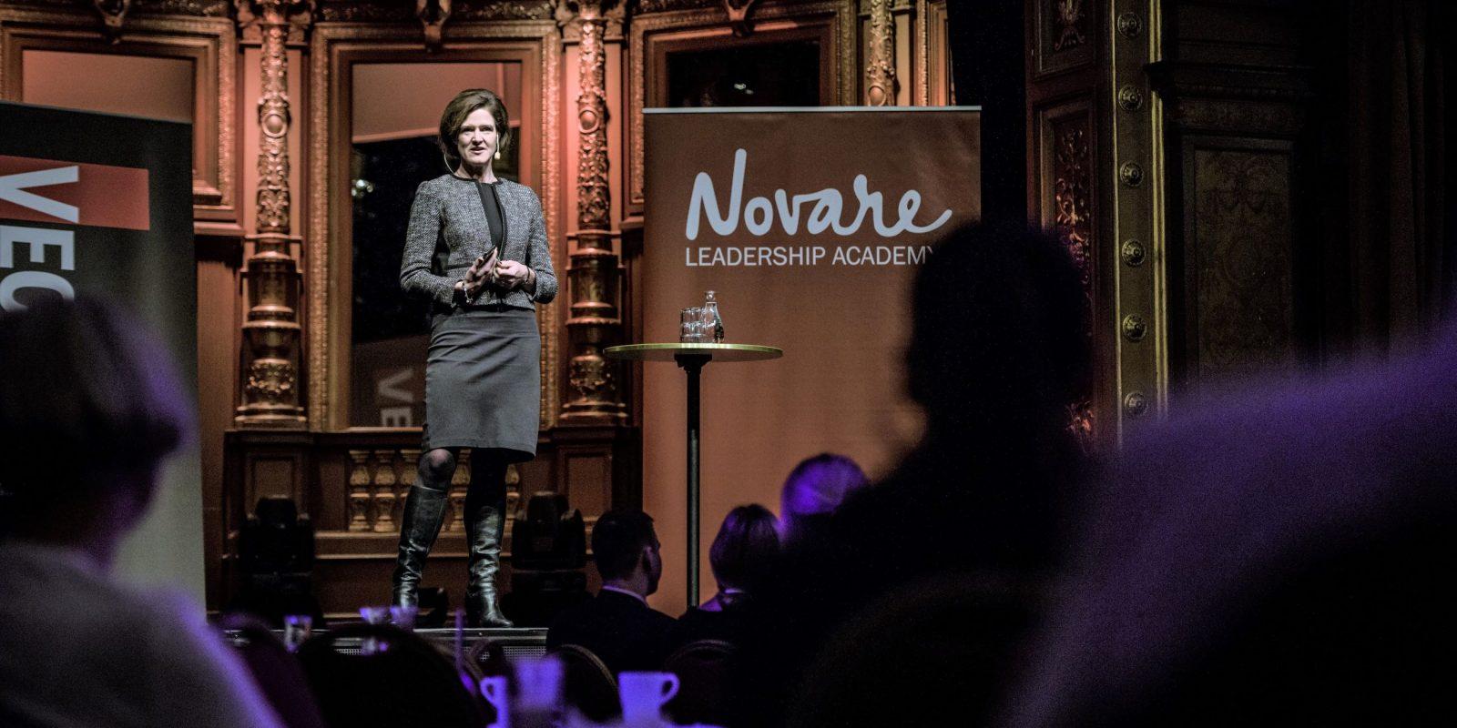 Anna Kinberg Batra talare på Novares Mentorprogram - tema ledarskap