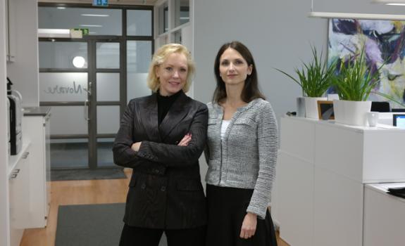 Helene Sköld och Maria Becker
