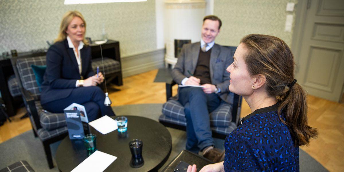 Intervju med tre personer