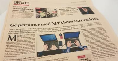 Novare i Svenska Dagbladet