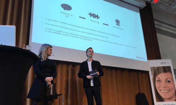 Novare talade på Vägledarkalendariet 2018